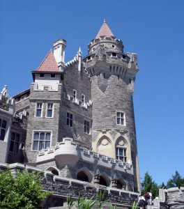 Behind the façade of T.O.'s castle