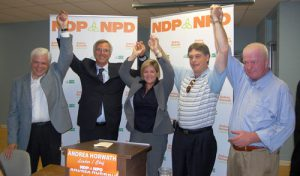 NDP nominates familiar face for St. Paul's