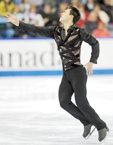 Olympics a test of Patrick Chan's mettle
