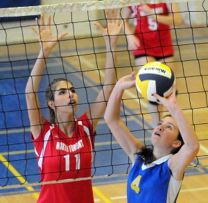 North Toronto digs deep for volleyball win