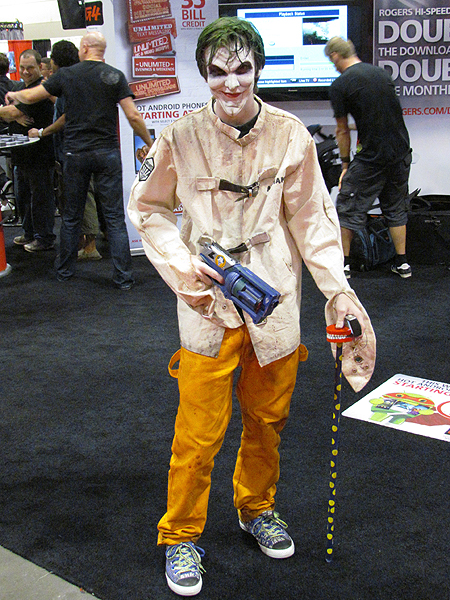 Brian Bakers Official Website Fan Expo Gets Colourful