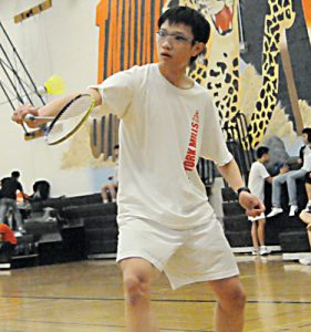 EYE ON THE PRIZE: OFSAA contender York Mills' Steve Li looks to qualify for both the city championships as well as OFSAA for Boys Singles A when playoffs come calling this April.