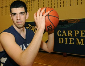 SEIZE THE MOMENT: Valentin Crainic's on and off-court leadership was one of the major reasons why Earl Haig's basketball team made it as far as they did, said head coach Eric James.