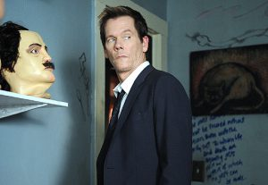 "Kevin Bacon in ""The Following""."