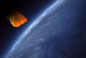 Meteor impact.