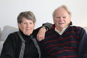 BRIAN BAKER/TOWN CRIER FIGHT OF HIS LIFE: Michael Jarvis, seen here with wife Sheila, is trying to get the provincial government to cover the cost of his medication.