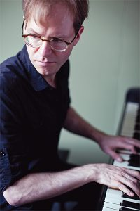 PHOTO COURTESY DAVID BRAID 88 KEYS AND A CELLO: Two-time Juno award winner David Braid will be reuniting with Twotet/Deuxtet collaborator Matt Brubeck Feb. 8 at the Paintbox Bistro.