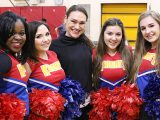 Ex-Argos cheerleader helps boost spirit