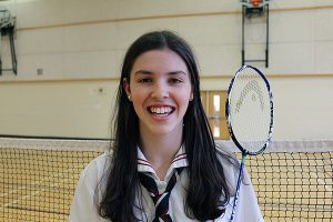 BRIAN BAKER/TOWN CRIER TO AND FRO: Rachel Honderich won in singles and doubles at the Yonex U23 and Junior National Badminton Championships, and is setting her sights on the 2016 Olympics.