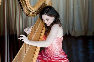 PHOTO COURTESY KAROL DUCLOS METAL HEAD: When not entrenched in theory and classical music, TSO harpist Heidi Van Hoesen Gorton likes to listen to Metallica and Katy Perry.