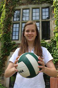 BRIAN BAKER/TOWN CRIER HARVARD BOUND: Havergal College's Senior Athlete of the Year, Heather Sigurdson.