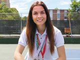 Isabella Baston's love of tennis prevails