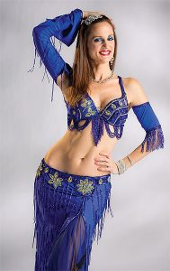 """PHOTO COURTESY IDEN FORD PHOTOGRAPHY HIPS DON'T LIE: Helen Colas, known by her stage name Amoura, performed in """"Arabian Nights: A Belly Dance Spectacular"""" as part of this summer's Fringe Festival."""