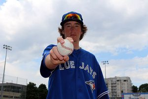 BRIAN BAKER/TOWN CRIER AIMING FOR GOLD: Leaside's Taylor Lepard pitched for the 16U Ontario Blue Jays Aug. 2–7 in the U.S. Speciality Sports Association's gold medal games in Kissimmee, Fla.