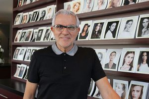 BRIAN BAKER/TOWN CRIER MODEL MAN: Rosedale's Elmer Olsen plays a big role in launching the modelling careers of many Canadian girls, but admits there was no one quite like Judy Welch.