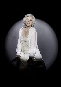 PHOTO COURTESY YURI DOJC MARILYN 50 YEARS LATER: Nonnie Griffin portrays legendary screen star Marilyn Monroe.