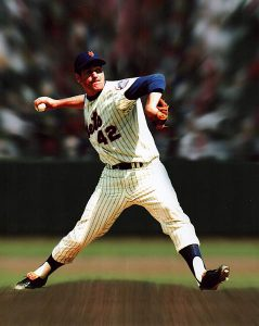 PHOTO COURTESY RON TAYLOR THE GOOD OL' DAYS: Ron Taylor pitched for New York Mets from 1967 to 1971. He won one of his four World Series rings with the young squad in 1969.