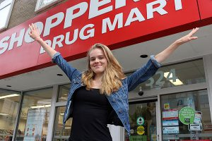 BRIAN BAKER/TOWN CRIER FRESH FACE: North Toronto's Karis Marcil has been picked as the face of Shoppers Drug Mart's summer campaign after only three months of active modelling.