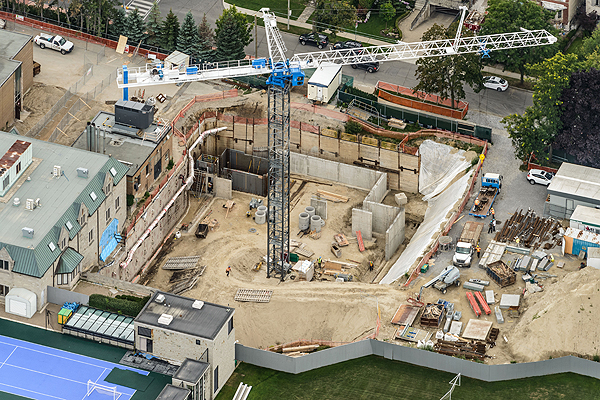 PHOTO COURTESY BISHOP STRACHAN SCHOOL EXPANSION UNDERWAY: Bishop Strachan School has been expanding its Forest Hill institution, and a recent $1-million donation from the E & G Odette Foundation helps ensure a 2017 opening.