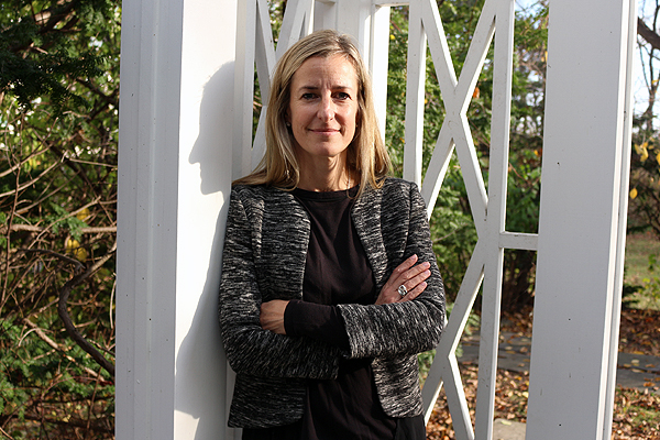 KEEPING HER DAUGHTER'S LEGACY ALIVE: Nicole German, seen outside the Phillips House, is helping to raise $1 million for North York General Hospital's $7 million project to redesign the building into an outpatient clinic for children and teens with mental health ailments. BRIAN BAKER/TOWN CRIER KEEPING HER DAUGHTER'S LEGACY ALIVE: Nicole German, seen outside the Phillips House, is helping to raise $1 million for North York General Hospital's $7-million project to redesign the building into an outpatient clinic for children and teens with mental health ailments.