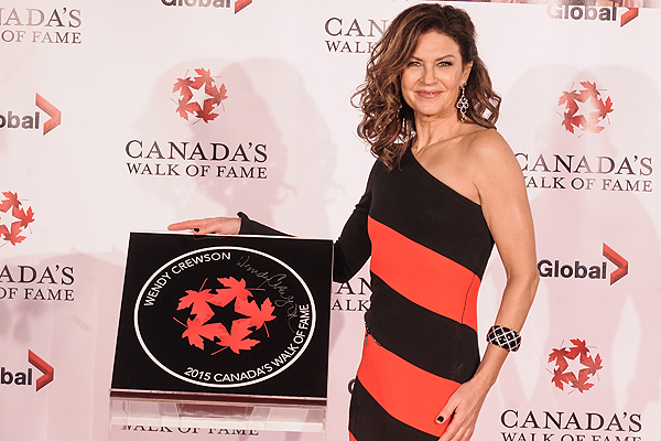 PHOTO COURTESY GEORGE PIMENTEL SHINING STAR: Actor Wendy Crewson, who's career has spanned four decades, accepts her star on the Canadian Walk of Fame, Nov. 7.