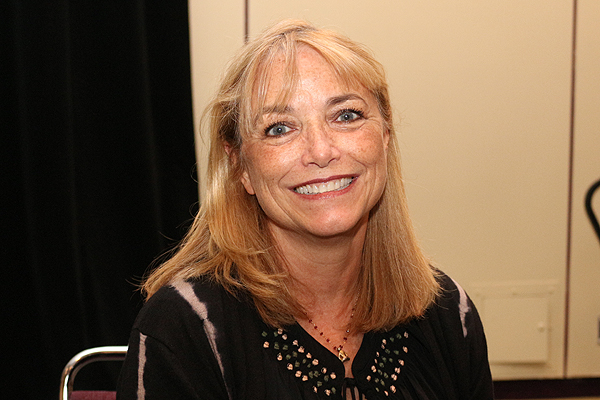 BRIAN BAKER/POPSHIFTER Karen Allen is all smiles during her visit to Toronto ComiCon, March 19, 2016.