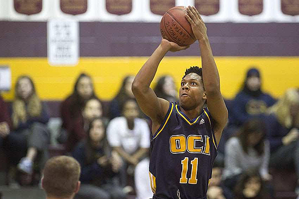 PHOTO COURTESY ANTHONY MILLER MOVING ON: Oakwood Barons senior boys basketball team will be losing six key players to graduation or transfer. Among them will be Kadre Gray, who helped the squad earn a silver medal at OFSAA in March.