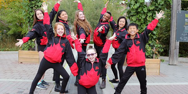 Dancing for Canada at world championships