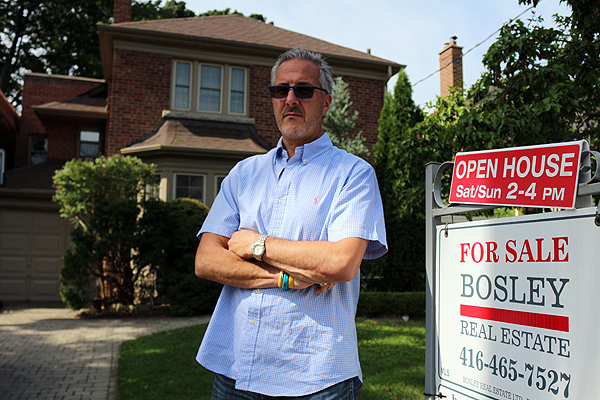 BRIAN BAKER/TOWN CRIER NEIGHBOURHOOD WATCHER: Realtor Patrick Rocca has seen growth in foreign buyers in Leaside but it's great for sellers in the area, he says.