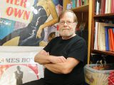 BRIAN BAKER/STREETER NEW HOME FOR LANA: Ted Wright manages the Hollywood Canteen on Mount Pleasant. Movie fans can find a great collection of movie posters, promo stills and books on stars from bygone eras.