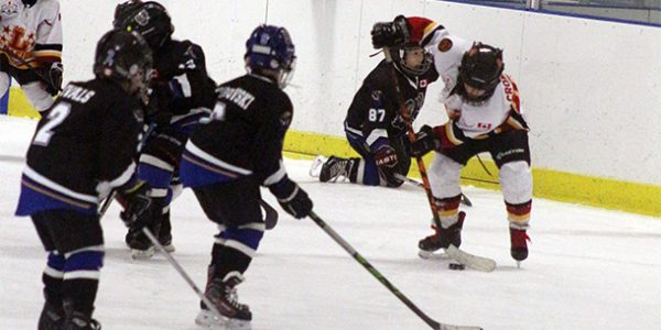 Nothing was going to stop invitational hockey tournament
