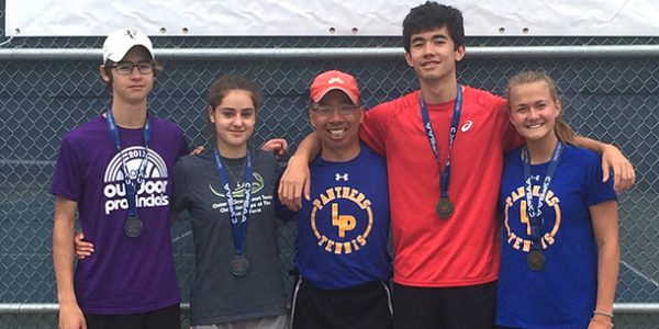 Fewer players, four medals for Lawrence Park at OFSAA tennnis